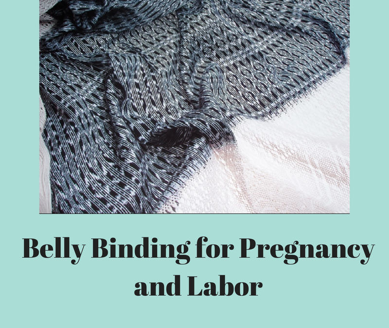 Belly Binding in Pregnancy and Labor
