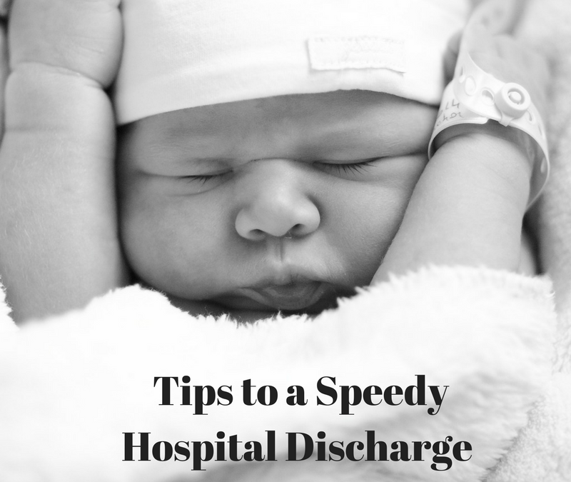 Postpartum Checklist for Hospital Discharge
