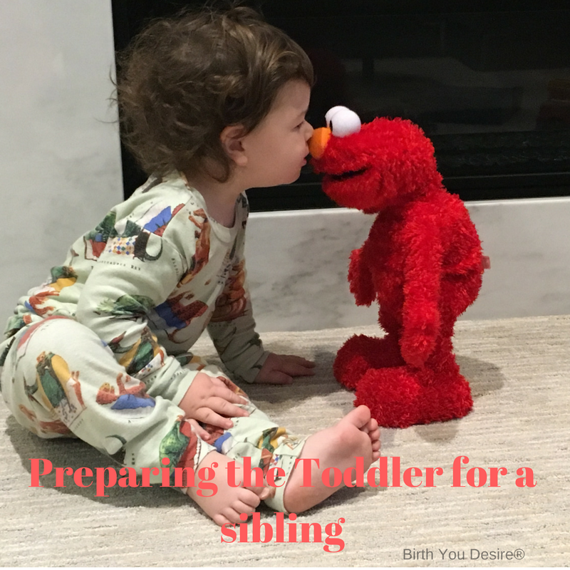 toddler with Elmo