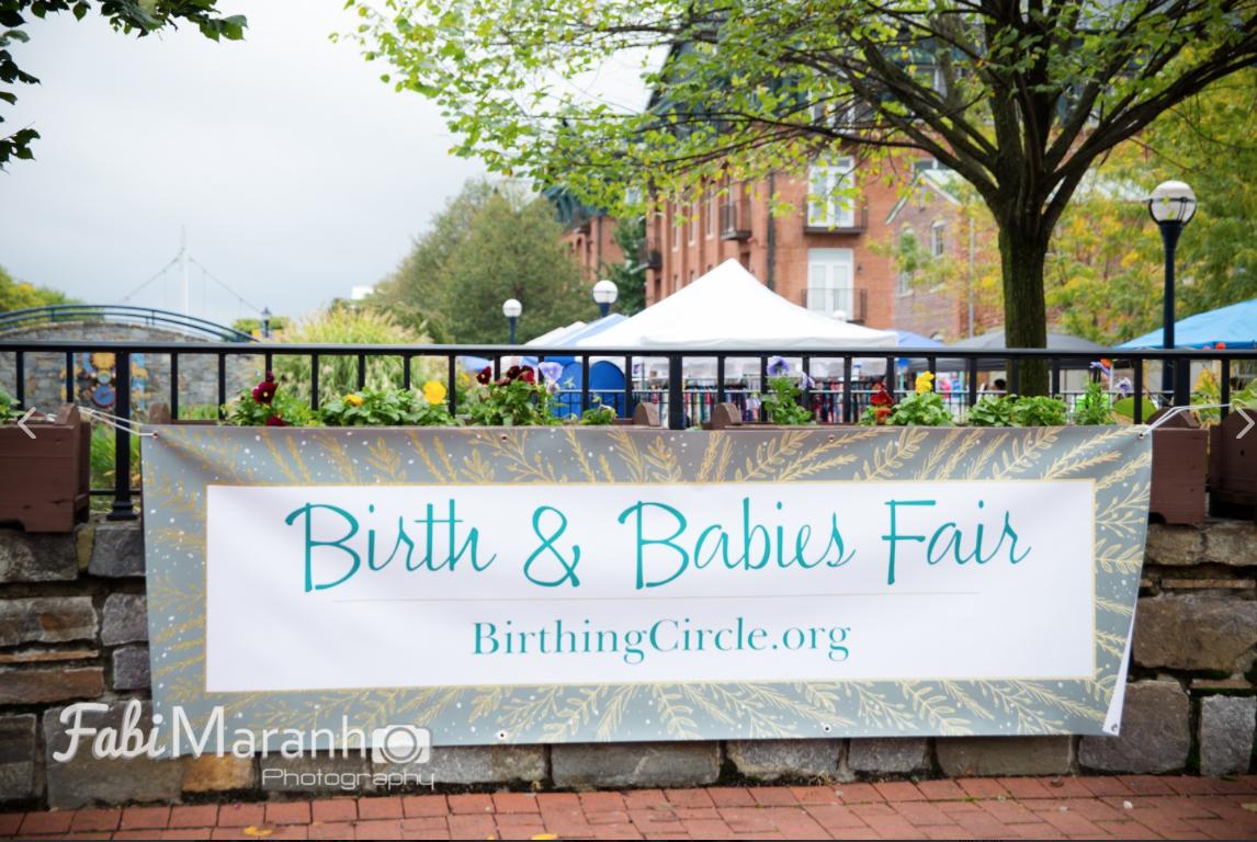 Birth and babies Fair banner