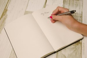 Journaling for birth